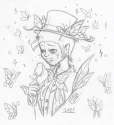 Idvcfm: Memory Of Destiny Butterfly (Sketch)