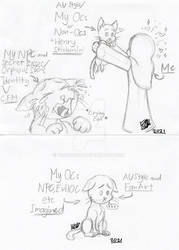 My very Friendship Cat And I Forgot (Sketck Meme)
