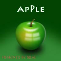 pixel apple by bilalstunning