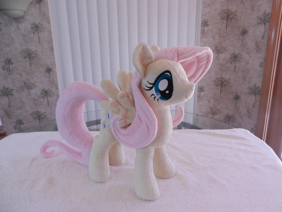 FlutterShy Plush by EquestriaPlush