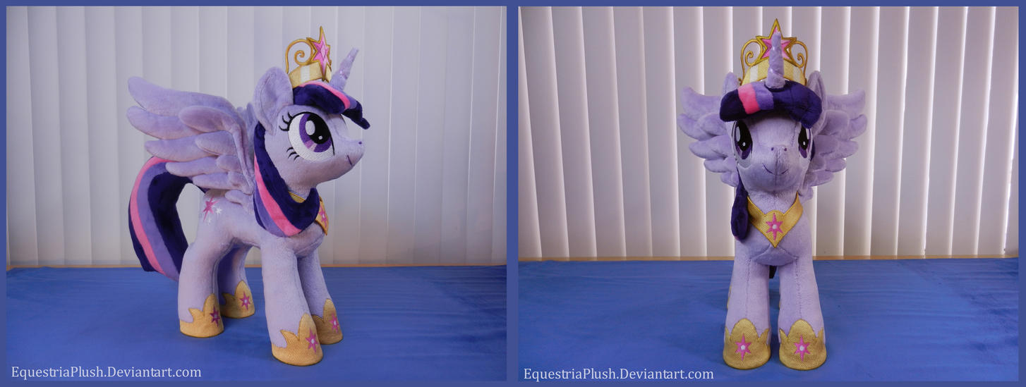 Princess Twilight Alicorn Plush by EquestriaPlush