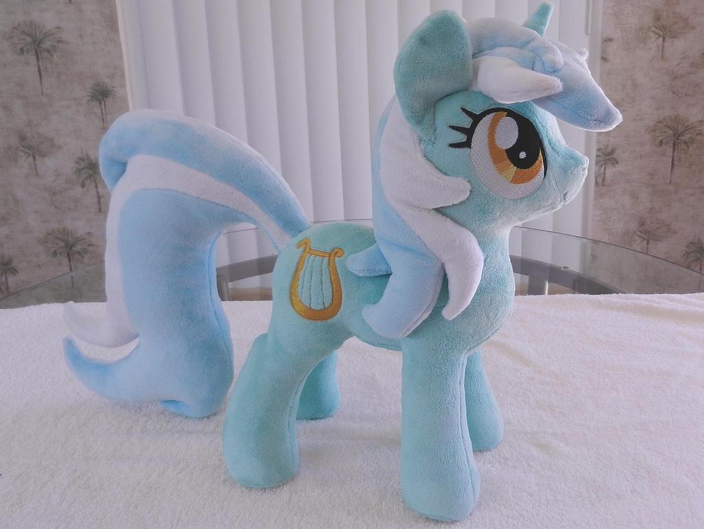 Lyra Plush by EquestriaPlush