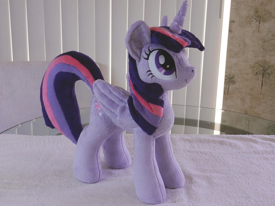 Alicorn Twilight Sparkle Plush by EquestriaPlush