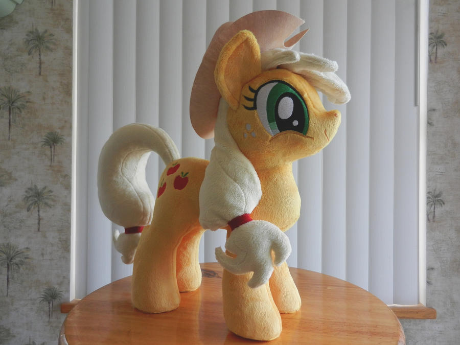 AppleJack Plush by EquestriaPlush