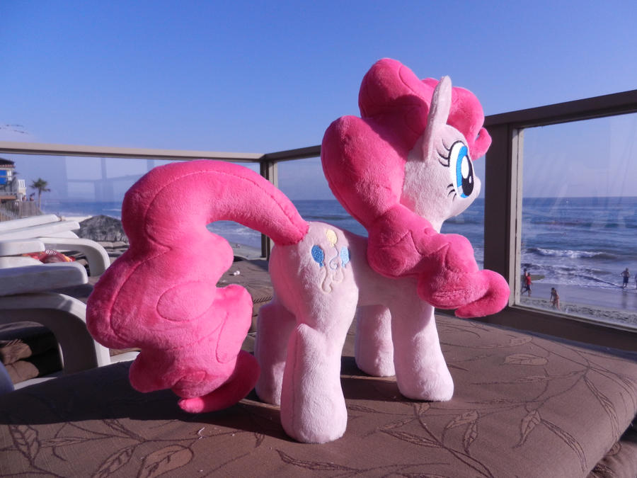 We have a nice view from the lounge chairs by EquestriaPlush