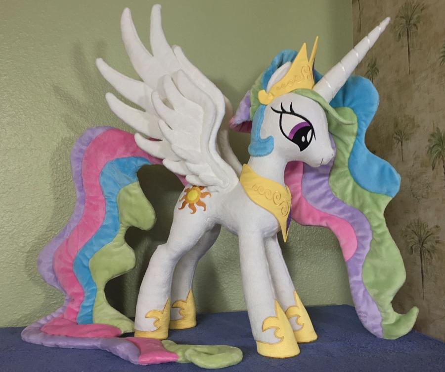New Home for Princess Celestia by EquestriaPlush