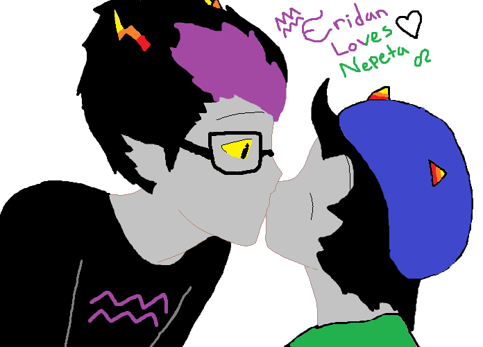 Nepeta And Eridan Eridan and Nepeta by A...