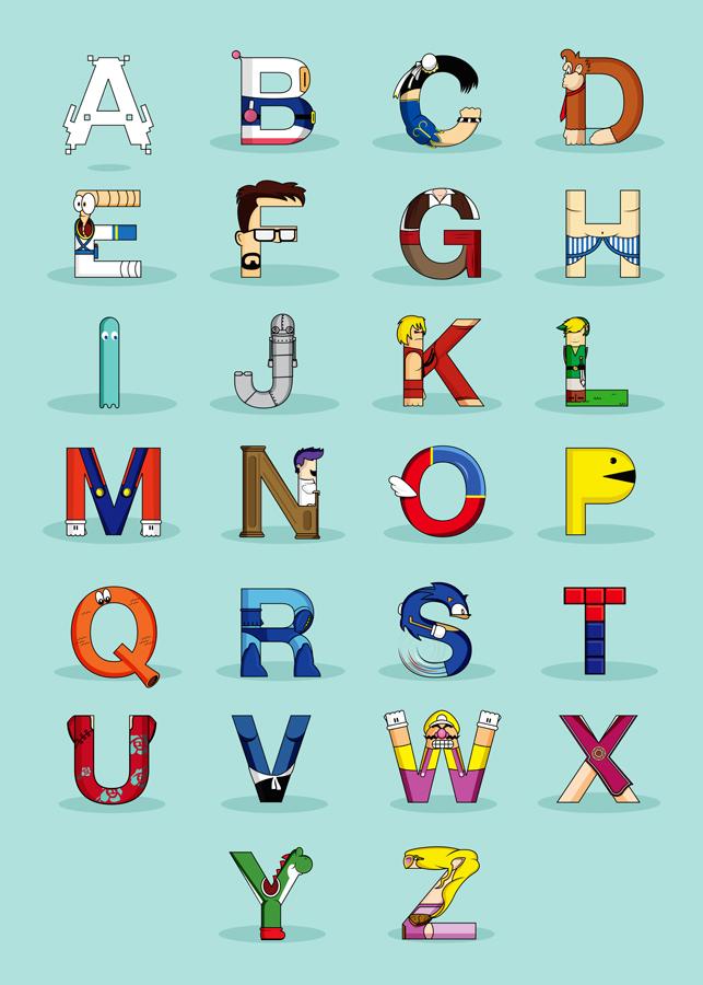 VGC alphabet