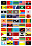 superheroes as flags