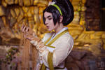 Toph Beifong cosplay Avatar: The Last Airbender