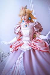 Princess Peach cosplay costume Mario