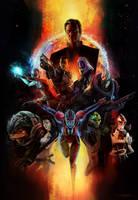 Mass Effect by Exu1a/Exullium by Wesker1984