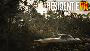 RE7: Biohazard - Ethan's car wallpaper HD
