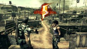 Resident Evil 5 Kijuju Autonomous Zone wallpaper