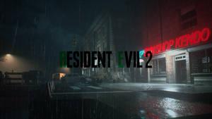 Resident Evil 2 - Gun Shop Kendo wallpaper HD
