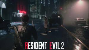 Resident Evil 2 - Desolated city wallpaper HD