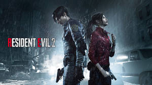The Protagonists - Resident Evil 2 wallpaper HD