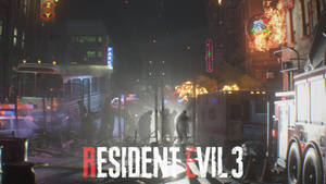 RE3 Raccoon City HD Wallpaper