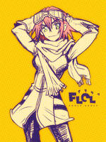 Haruko Haruhara :FLCL by zp524