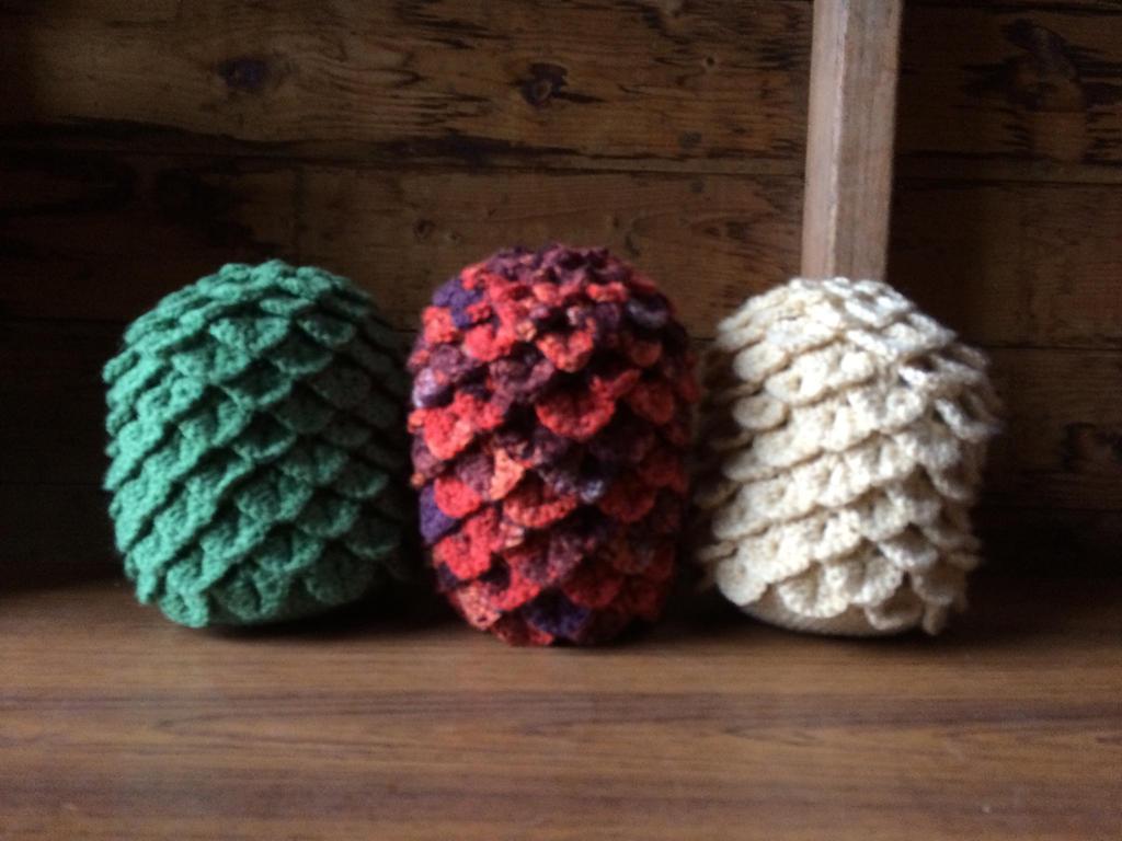 Amigurumi Dragon Egg : Game of Thrones Dragon Eggs Crochet by LuckyLily3496 on ...