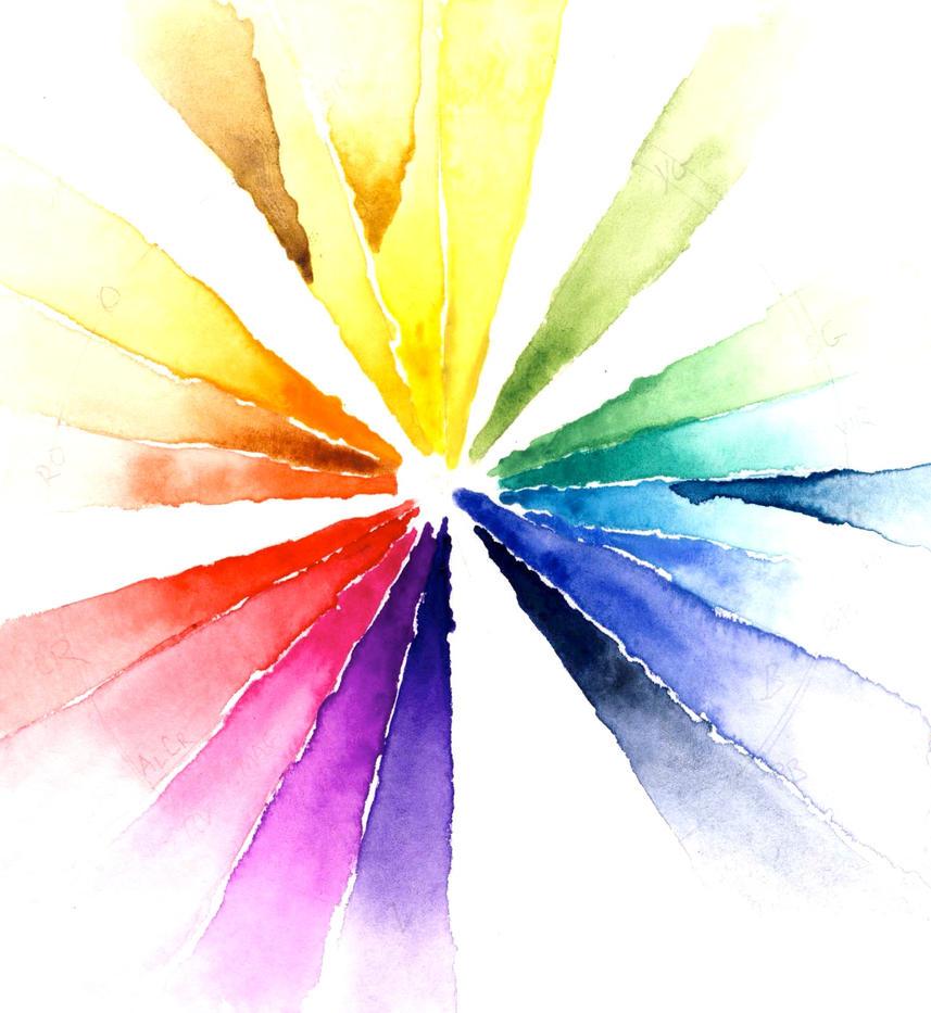 Watercolor Wheel By Starshield