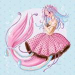 Polkadot Jellyfish Mermaid