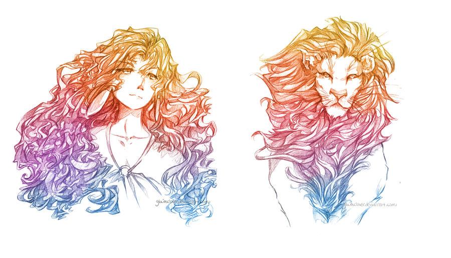 Nature's Twins: Le Roi Lion by glaciesClOvEr