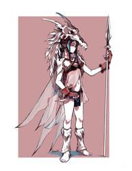 Elven Fairy Warrior by glaciesClOvEr