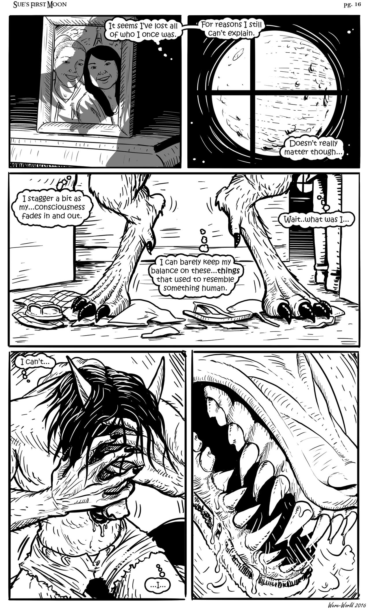 Sue's First Moon pg16 by Were-World