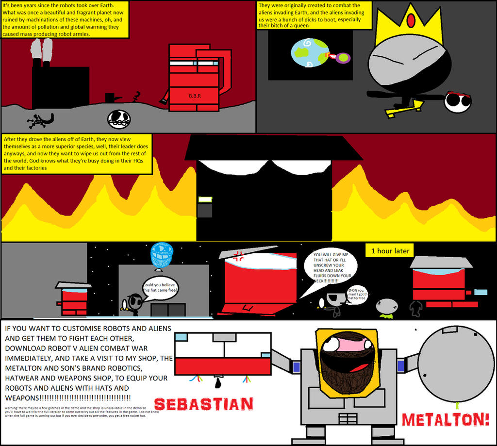 RvACW intro comic by TheLeondude