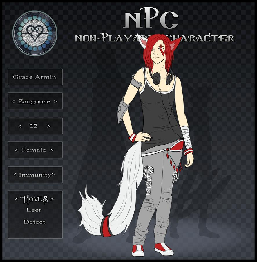 Grace Armin - NPC by AcerbusKeeper