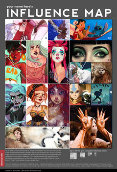 Influence Map 2016