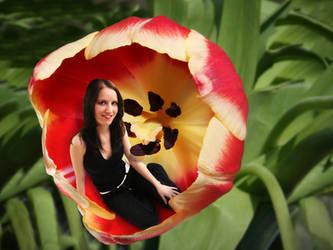 flower by photonensauger
