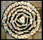 California Heart-Shaped Sushi