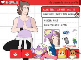 PokeParade App: Sebastian Witt by MysteriousDane