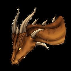 The bronze dragoness