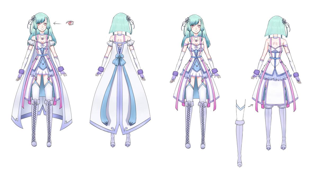 Anime Character Design Base : Oc character design sheet by kiichigo kumo on deviantart