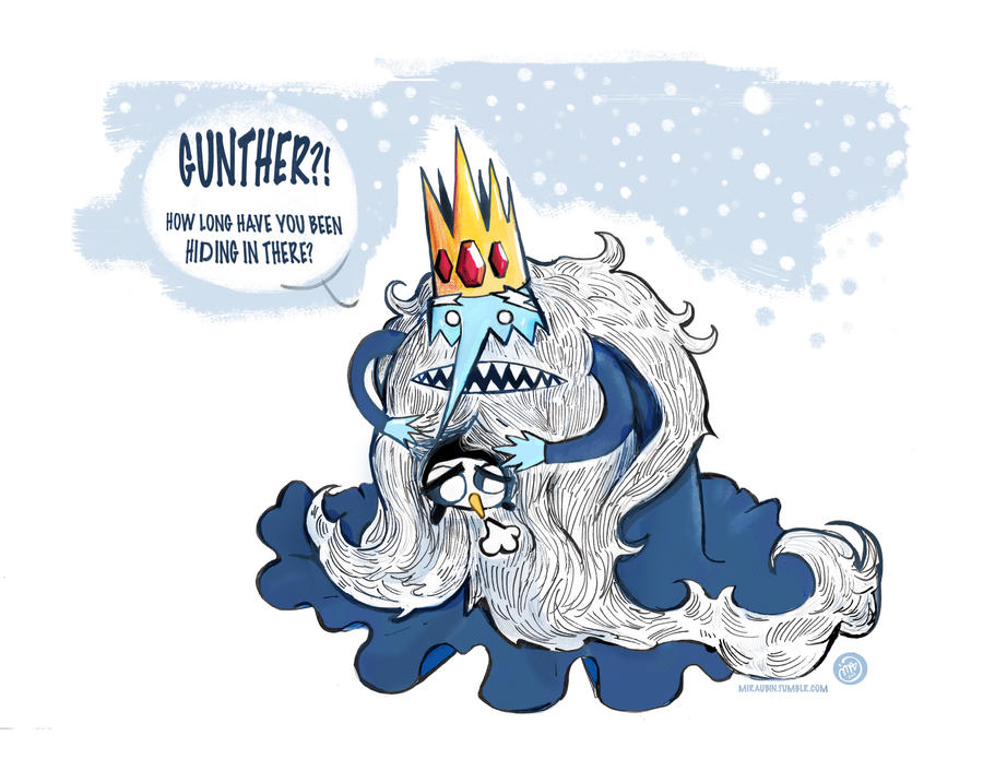 By Ice king Beard by Miraubin
