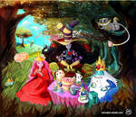 tea time in wonderland