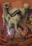 Tindalos kutya'i/ The Hounds of Tindalos