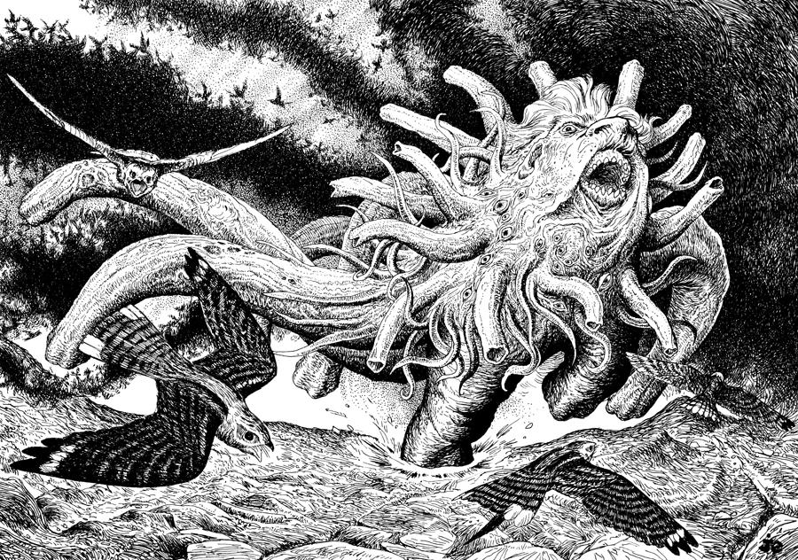 Yog-Sothoth Ivade'ka/ Spawn of Yog-Sothoth by vsqs