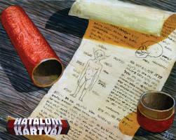 Manotekercsek/ Scrolls of goblin