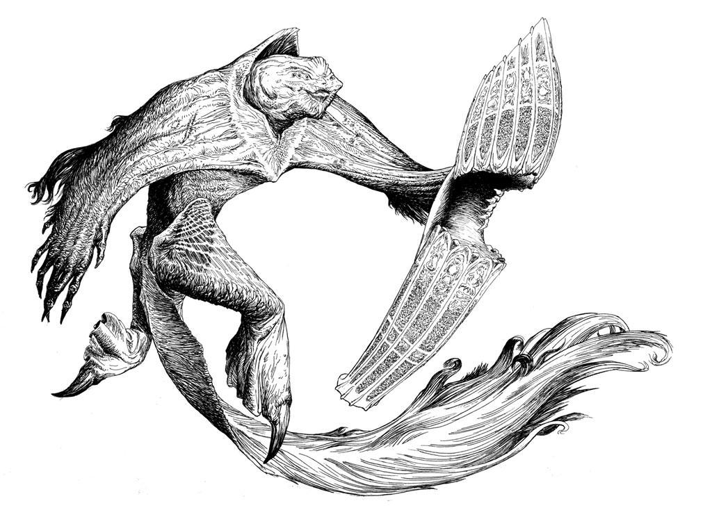 Deities and Entities: Dagon by vsqs