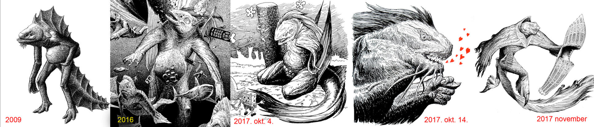 Dagonok/ Dagons by vsqs