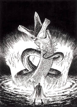 DnD illustration 3: Summoning