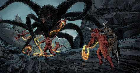 Fight against Ungoliant