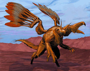 Insectoid gryphon