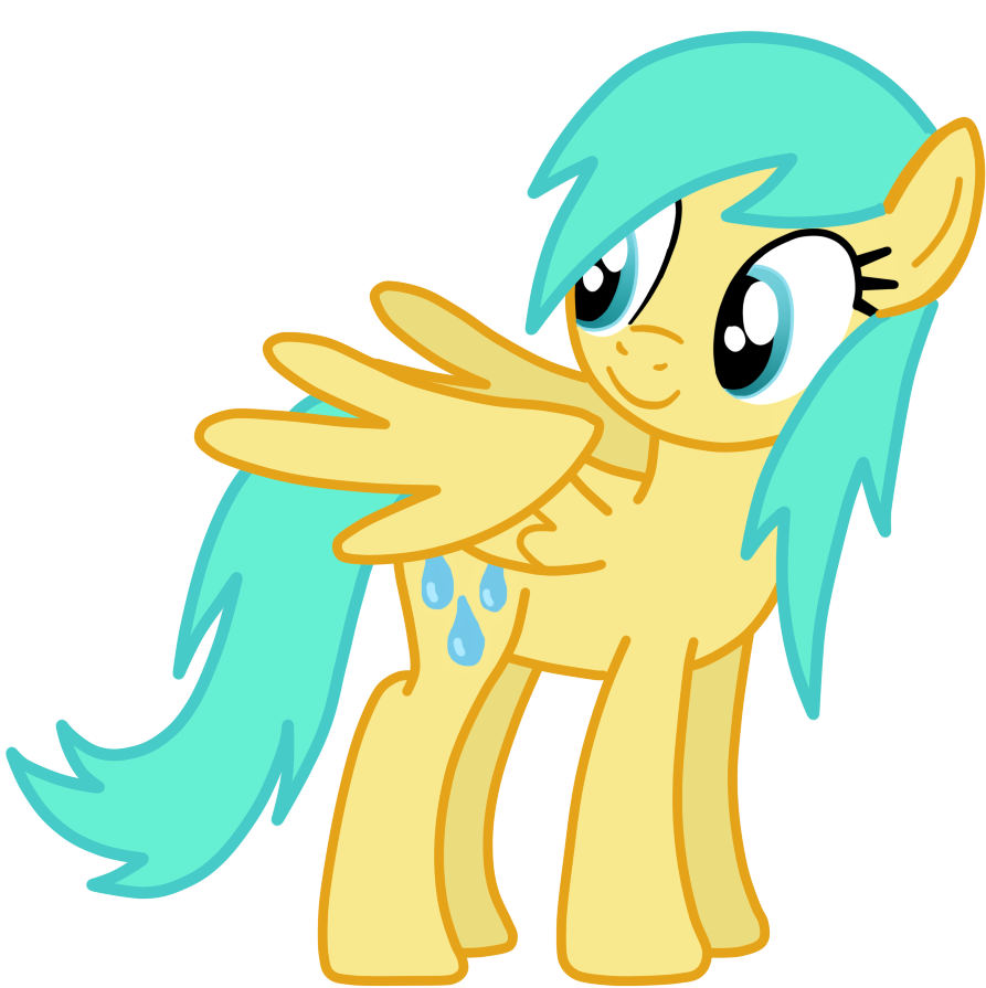 Raindrops Vector by Go0re on DeviantArt # Sunshower Mlp_175524