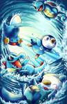 Pokemon water starters