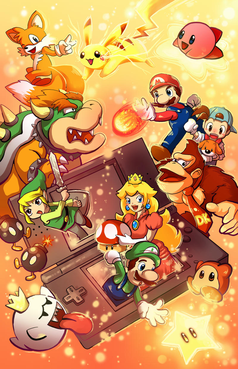 Collection: The Nintendo Generations by techgnotic on DeviantArt